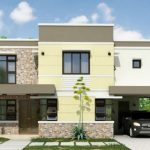 Modelos de casas de dos pisos 4 dormitorios