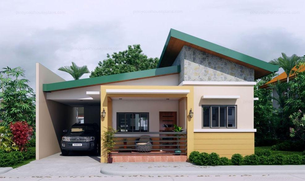 Plano de casa con medidas en metros planos de casas modernas for Planos de casas rurales