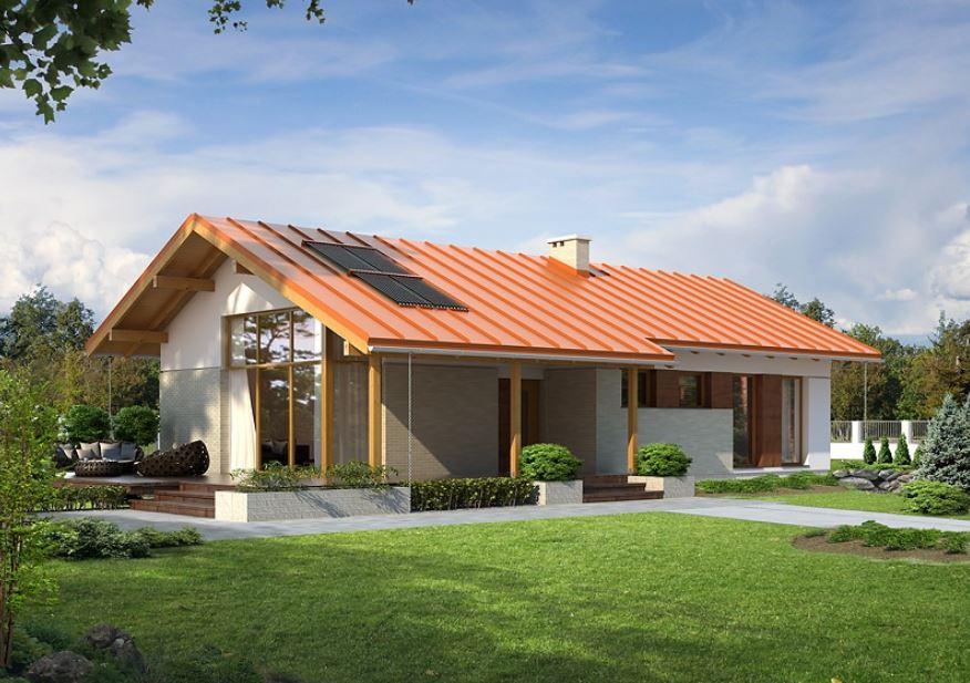 Planos de casas de campo modernas for Diseno de casa sencilla