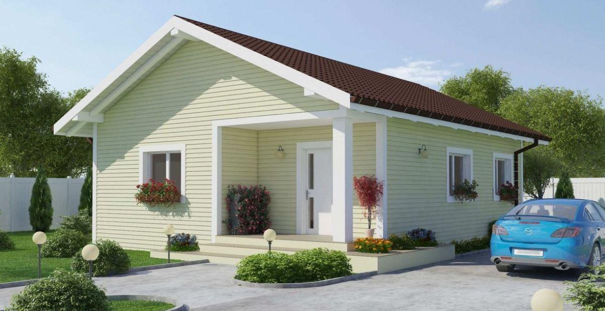 Plano de casa con techo a 2 aguas planos de casas modernas for Diseno de casa sencilla