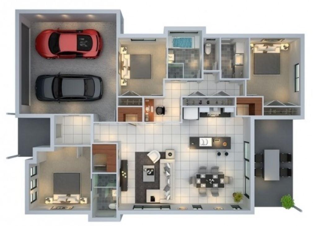 Planos de casas modernas planos de casas gratis y modernas for Planos de casas 200m2