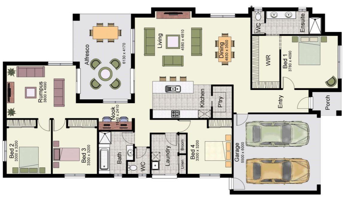 Planos de casas modernas planos de casas gratis y modernas for Casa con garage laterale