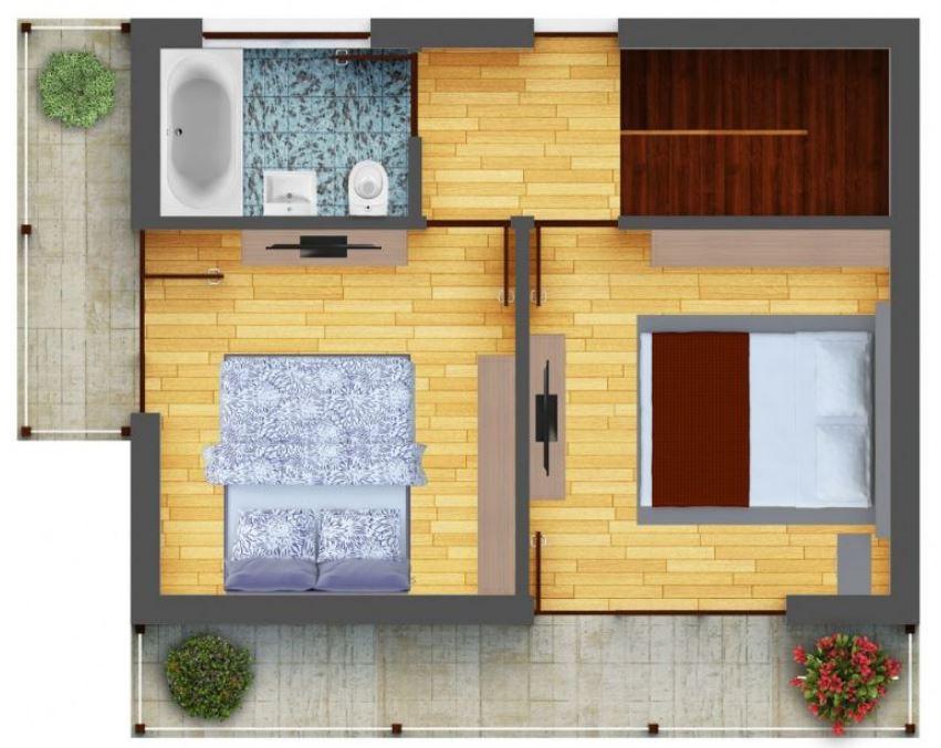 Planos de casas con techos livianos planos de casas modernas for Techos livianos para casas