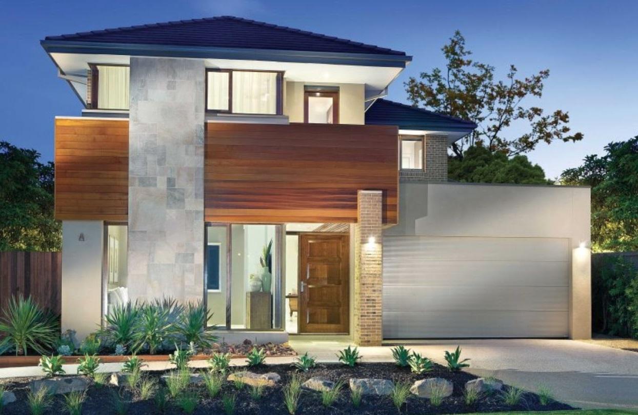 Frentes de casas bonitas for Planos de casas lindas