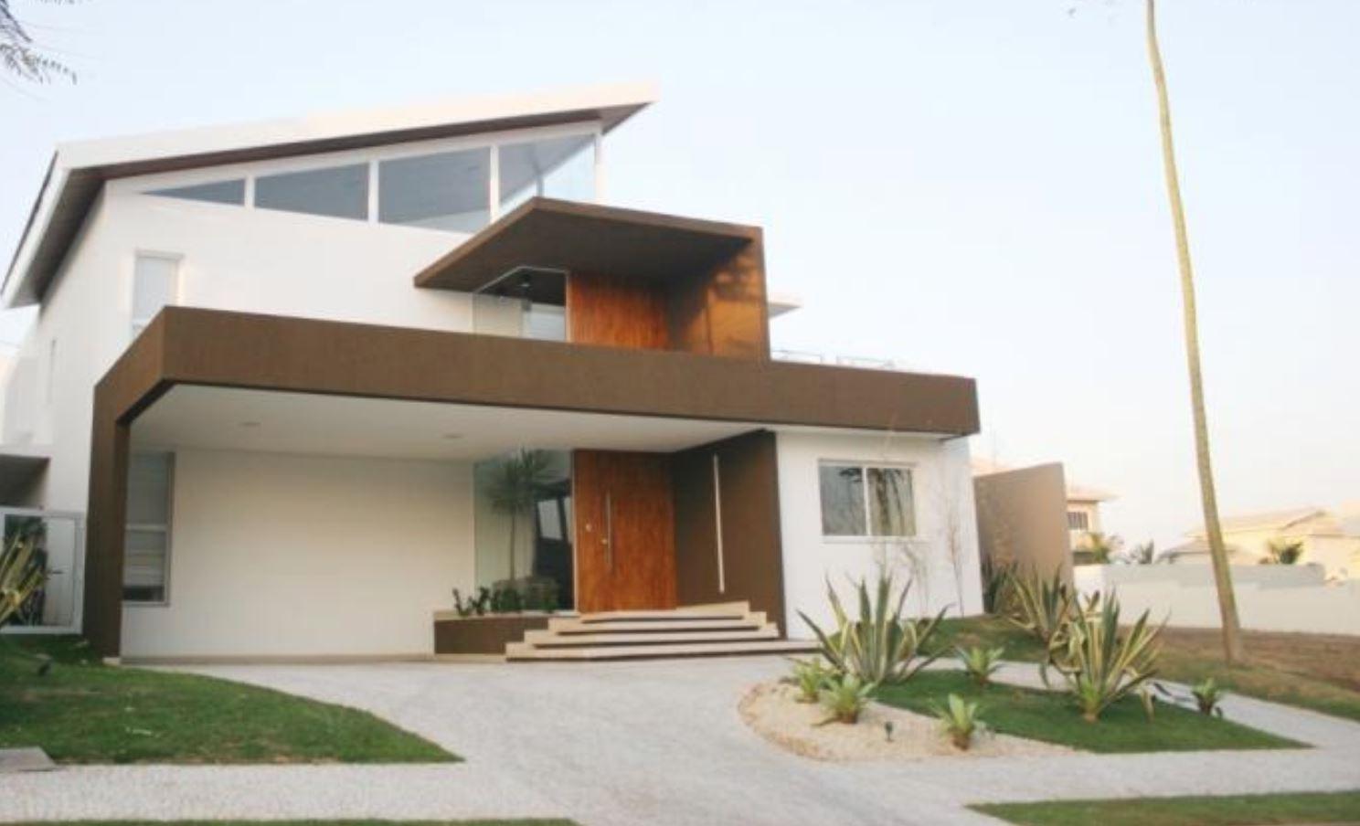 Frentes de casas bonitas for Casas medianas bonitas