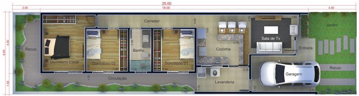 diseno de casas de 6 x 20 las casas de los arquitectos