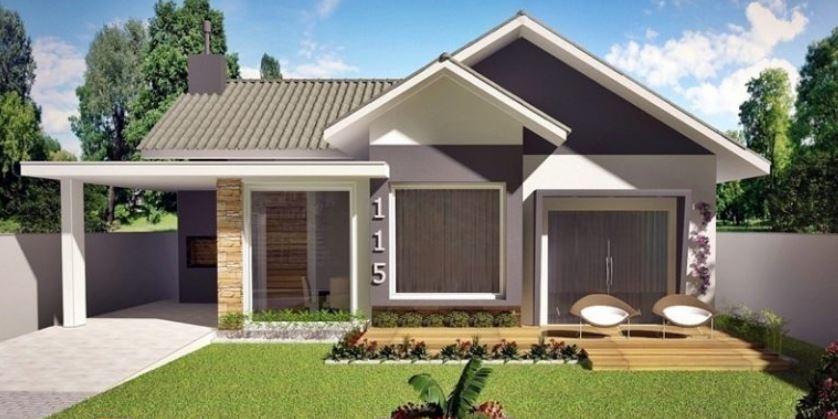 Plano de casa con medidas en metros planos de casas modernas for Casa de 2 plantas y 3 habitaciones