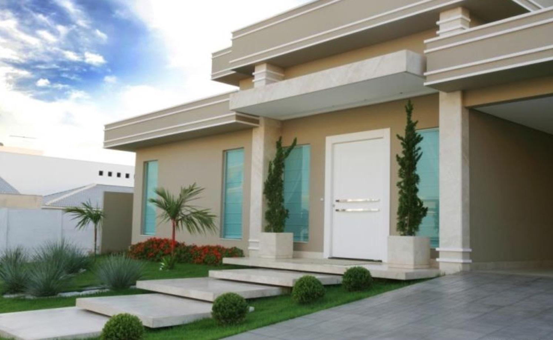 Frentes de casas bonitas for Viviendas modernas fachadas
