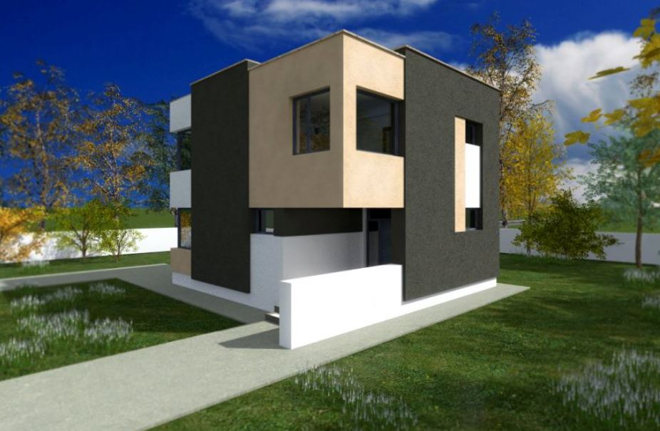 Planos de casas modernas planos de casas gratis y modernas for Disenos de casas de dos plantas modernas