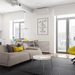 2 Modelos de apartamentos de menos de 50 metros cuadrados