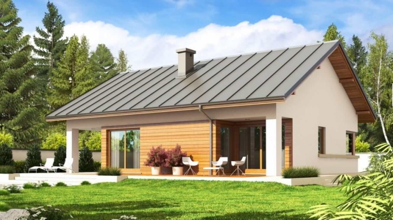 2 dormitorios planos de casas modernas for Modelos de casas de madera de un piso