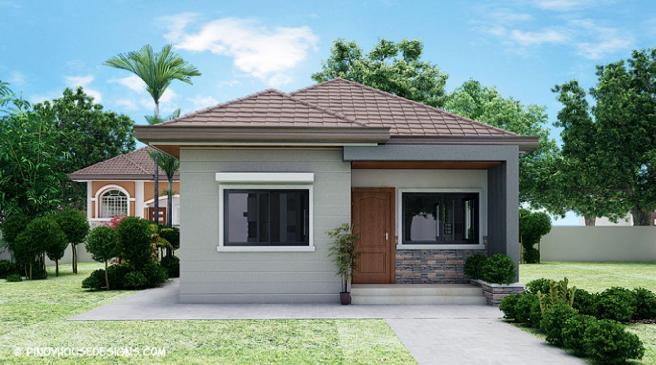 Plano de casa de 3 dormitorios planos de casas modernas - Casas de una planta ...