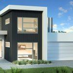 Plano de casa de 11×20 metros