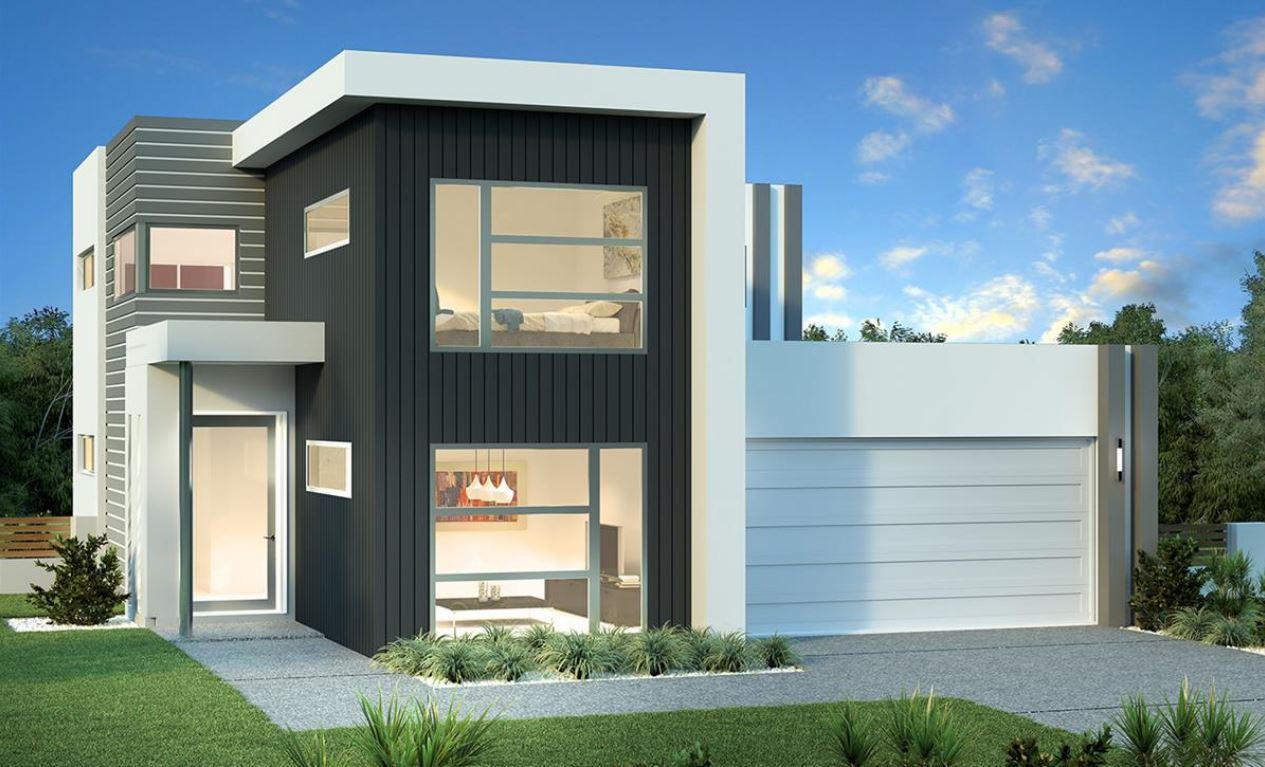Plano de casa de 11x20 metros for Modelos de casas fachadas fotos