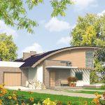 Planos de casas con escalera caracol