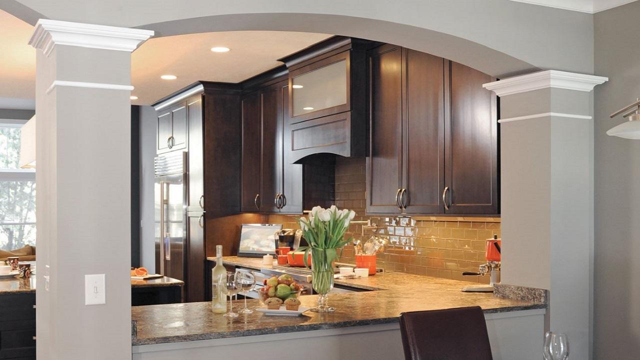 Planos de casas modernas planos de casas gratis y modernas Cocinas pequenas modernas con barra