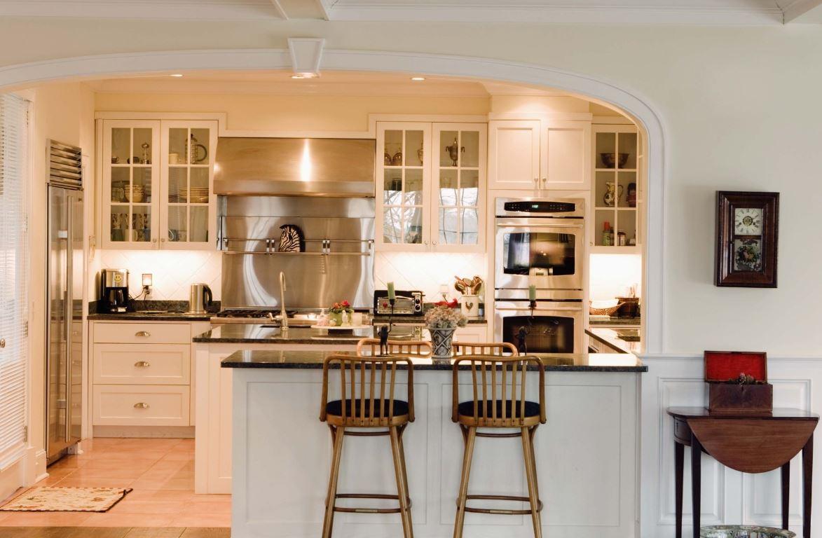 Cocinas con arcos planos de casas modernas for Best kitchen designs 2014