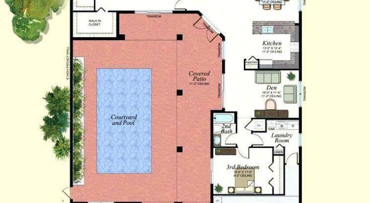 Piscina planos de casas modernas for Patios de casas modernas con piscina