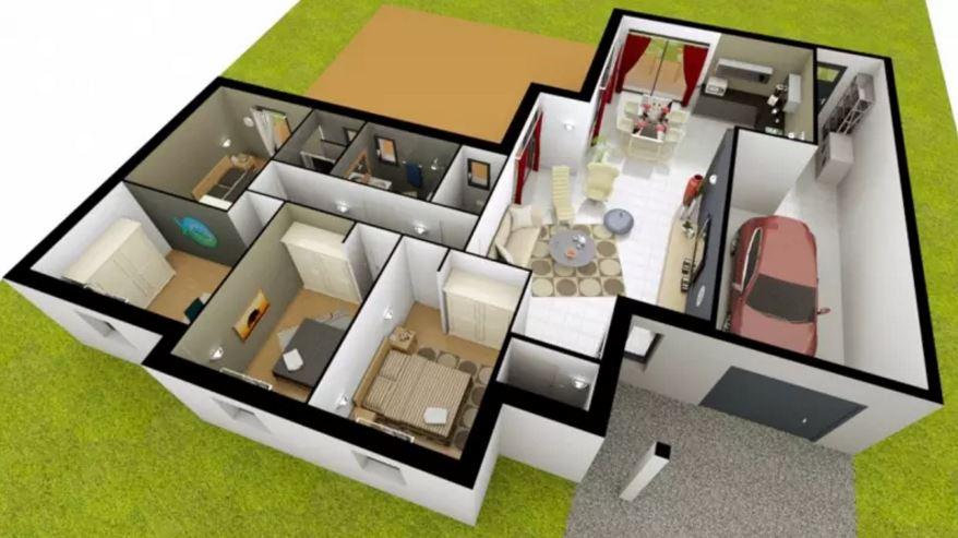 Plano de un bao tower ii with plano de un bao top plano for Las medidas de una casa xavier fonseca pdf gratis