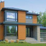 5 Modelos de casas de dos pisos y sus planos