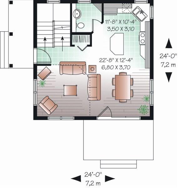 5 modelos de casas de dos pisos y sus planos for Casa de 2 plantas de 70 metros cuadrados