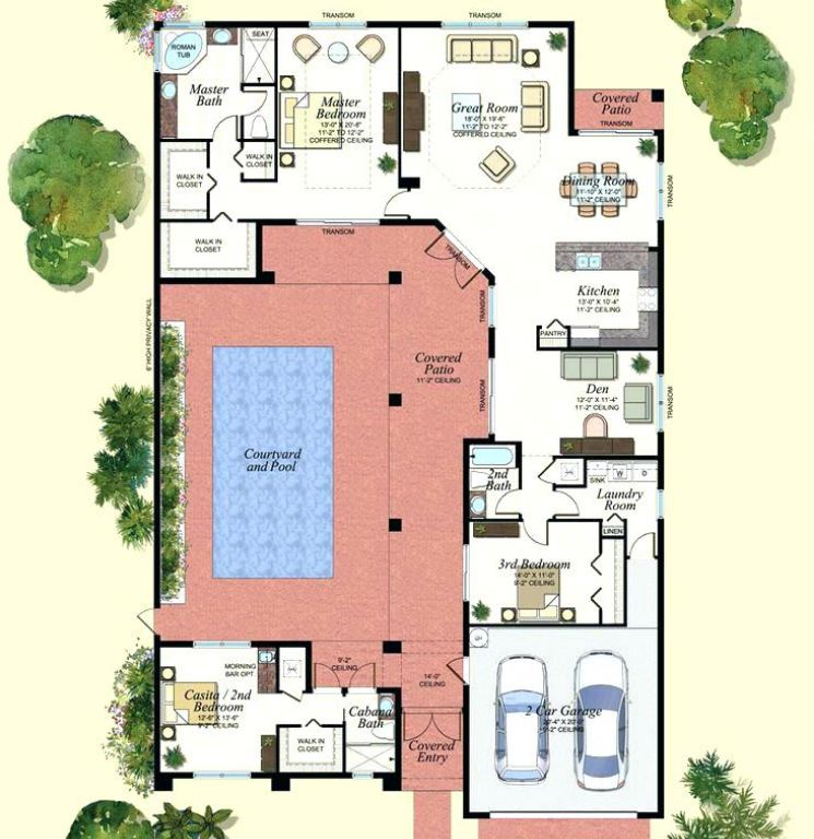 8 planos de casas grandes - Planos de casas grandes ...
