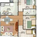 Plano de casa de 8x10 metros for Casa moderna 9x9