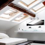 Como aprovechar cuartos con techos caídos buhardillas