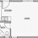 Plano de casa de 35 m2