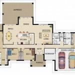 Modelos de casas de 4 dormitorios