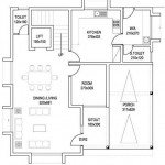 Plano de casa grande de 2 pisos