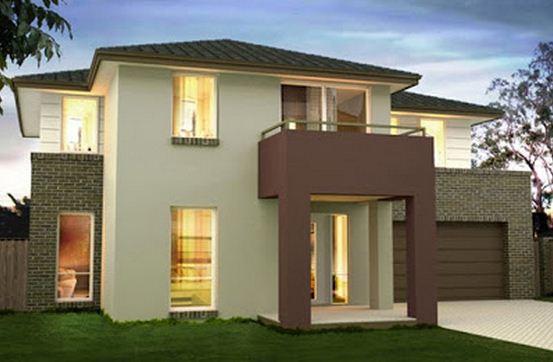 Colores para fachadas de casas planos de casas modernas for Colores de moda para fachadas