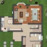 Planos de casas modernas de 120 m2