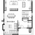Planos de casas modernas sin cochera