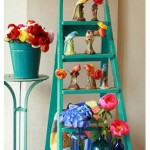 Decorar con escaleras antiguas