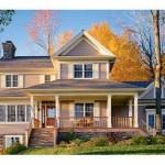 Plano de bungalow con doble entrada