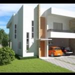 Plano de casas modernas