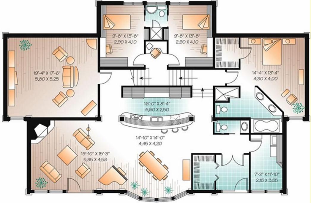 Planos de viviendas modernas planos de casas modernas for Viviendas modernas planos