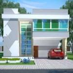 Plano de casa residencial