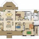 Plano de casa de 8 x 20