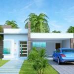 Modelos de casas modernas de un piso