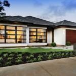 Plano de casa con estilo oriental