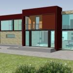 Modelos de casas de 2 plantas con 4 dormitorios