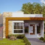 Casa moderna de 70 metros cuadrados