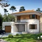 Plano de casa de 12×14 m