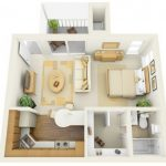 Casa de 55 metros cuadrados