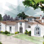 Casa con estilo colonial de 300 m2