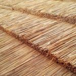 Construcción de techos de totora