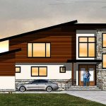 Casa contemporánea y rústica