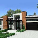 Casa de una planta con 130 metros cuadrados